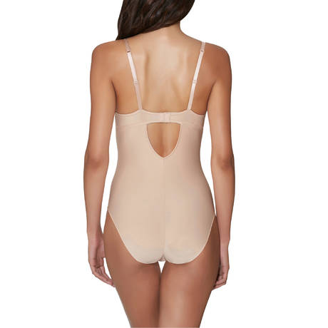 AUBADE Body push-up coques galbant Onde Sensuelle Nude