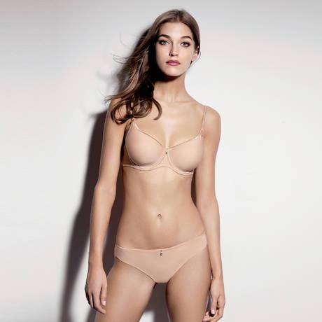AUBADE Soutien-gorge spacer Onde Sensuelle Nude