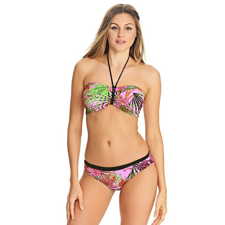 FREYA Maillot de bain slip réversible Lost In Paradise Rose