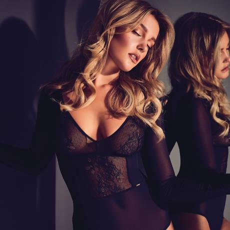 GOSSARD Body Glossies Lace Noir