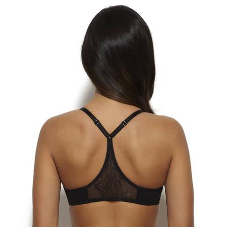 GOSSARD Soutien-gorge triangle sans armatures Glossies Lace Noir