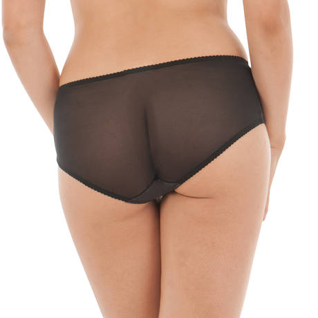 CURVY KATE Shorty Charm Noir/Rose