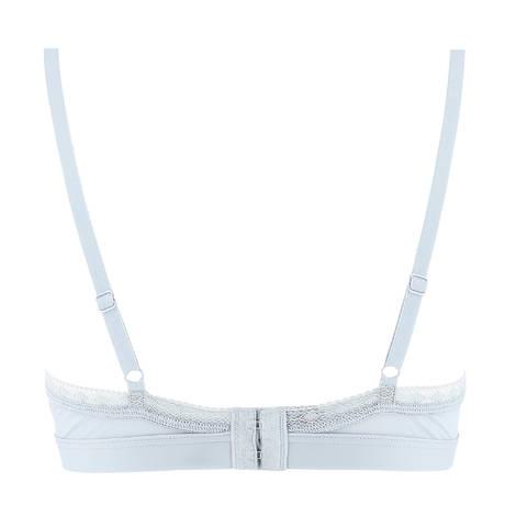 EPURE DE LISE CHARMEL Soutien-gorge triangle sans armatures Satin Séduction Argent Cosmétique