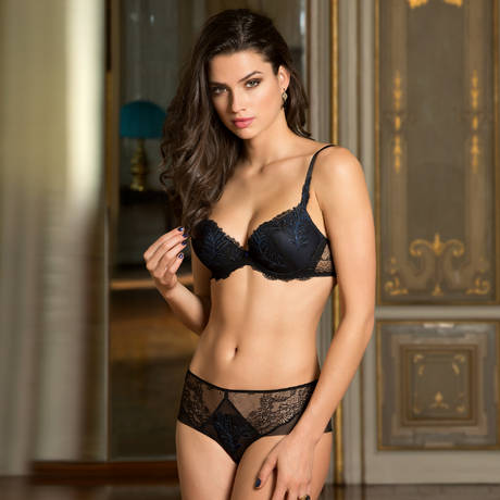 LISE CHARMEL Shorty Caresse Fougère Noir Saphir
