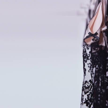 LES JUPONS DE TESS Nuisette Blush Noir/Rose