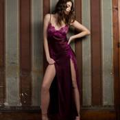 Robe de chambre en soie Marjolaine Caprice