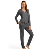 Pyjama en coton et modal Hanro Ivy