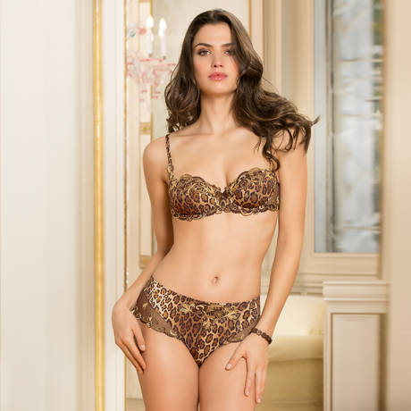 LISE CHARMEL Shorty Distinction Fauve Moka Fauve
