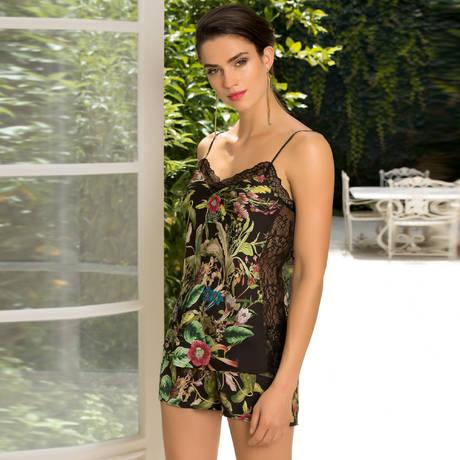 LISE CHARMEL Short Fleurs de Jungle Jungle Flore