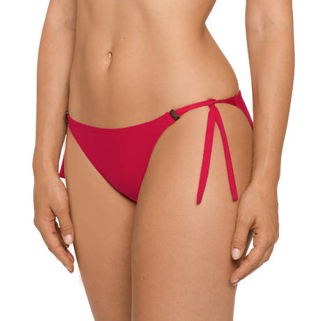 PRIMADONNA Maillot de bain slip ficelles  Cocktail Red Captain