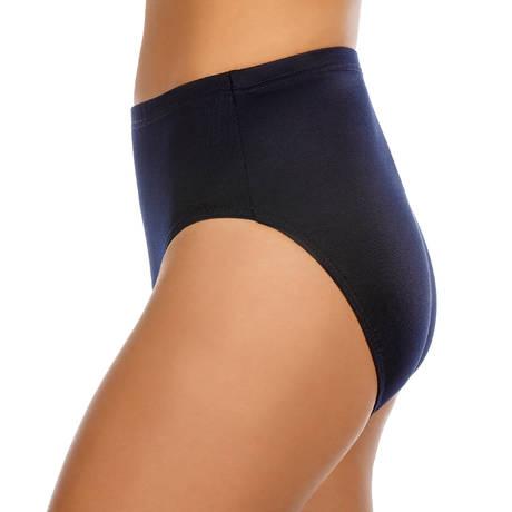 MIRACLESUIT Maillot de bain culotte haute Basic Pant Bleu Marine