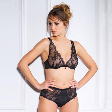 MILLESIA Culotte haute Cravache Noir