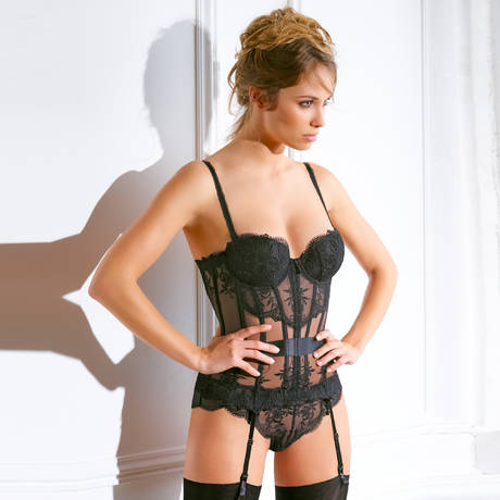 MILLESIA String Cravache Noir
