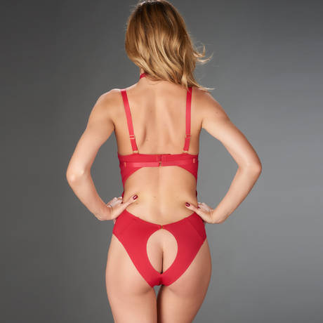 MAISON CLOSE Body string Tapage Nocturne Rouge