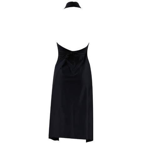 ANTIGEL Robe Paréo L'Estivale Chic Noir