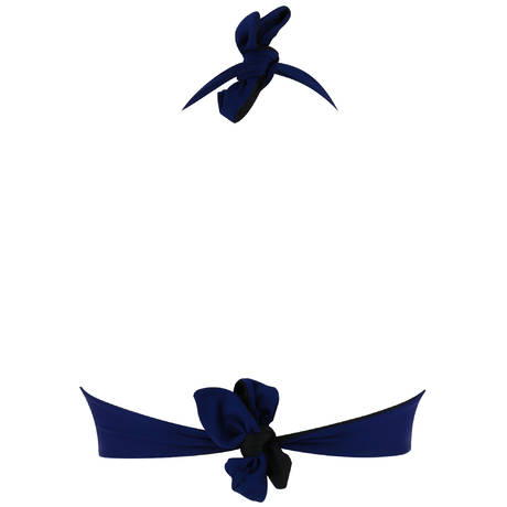 ANTIGEL Maillot de bain armatures triangle réversible L'Estivale Chic Marine Estival