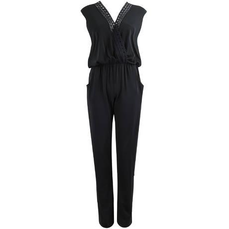 LISE CHARMEL Combinaison de plage Ajourage Couture Noir