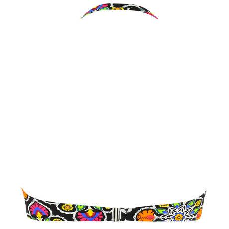 ANTIGEL Maillot de bain bandeau coques La Mandala des Iles Mandala Noir