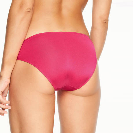 CHANTELLE Maillot de bain culotte haute Cala Conte Shocking Pink