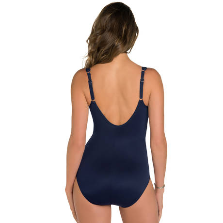 MIRACLESUIT Maillot de bain 1 pièce Madero gainant Net Work Midnight
