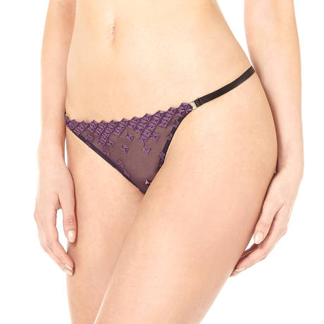 BORDELLE String Square Lace Violet