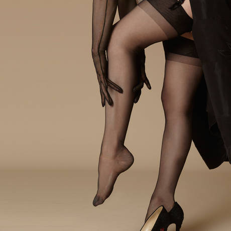 DITA VON TEESE Bas nylon Daytime Sheer Noir