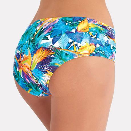 AUBADE Maillot de bain shorty Fleur Tropicale Bleu Eden