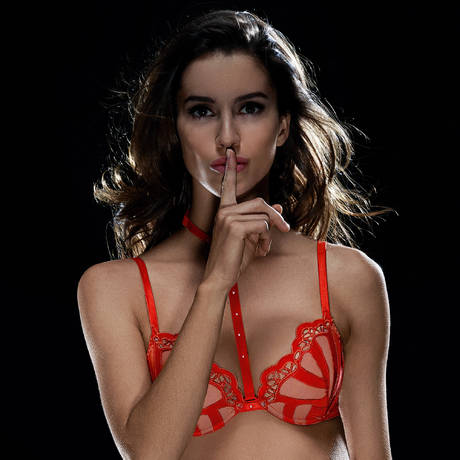 IMPLICITE Soutien-gorge push-up Enigme Redlight