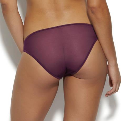 GOSSARD Slip Glossies Lace Dark Purple