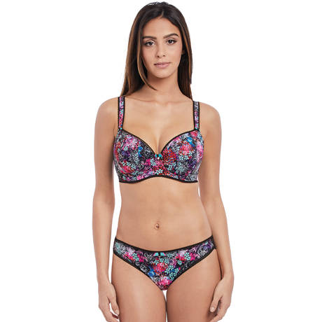 FREYA Soutien-gorge coques Forest Song Noir