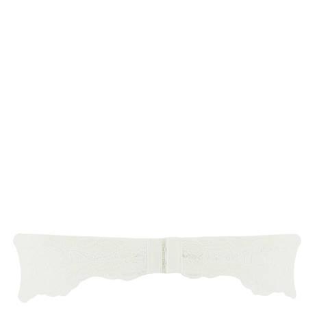 LISE CHARMEL Soutien-gorge bandeau coques en dentelle Exception Charme Nacre