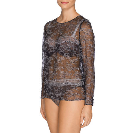 PRIMADONNA Top manches longues Crystal Noir