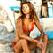 BANANA MOON Maillot de bain triangle coques Cabana Paprika