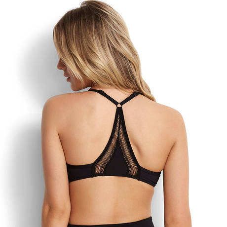SEAFOLLY Maillot de bain armatures décolleté Wild At Heart Noir