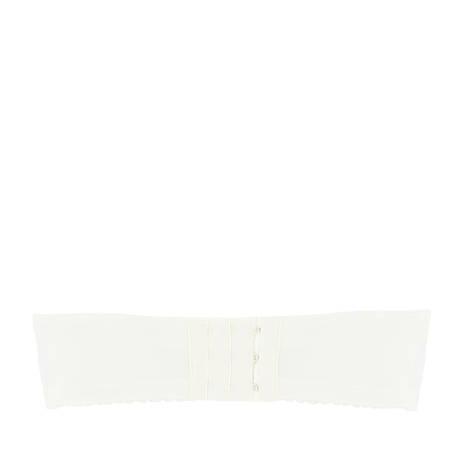 ANTIGEL Soutien-gorge bandeau coques bonnets profonds Pois Bohème Ecru Nacre