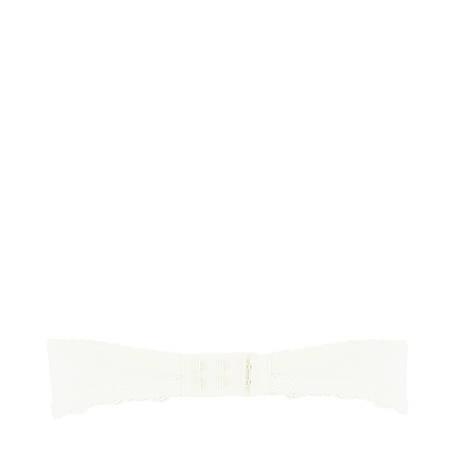 ANTIGEL Soutien-gorge bandeau coques Pois Bohème Ecru Nacre