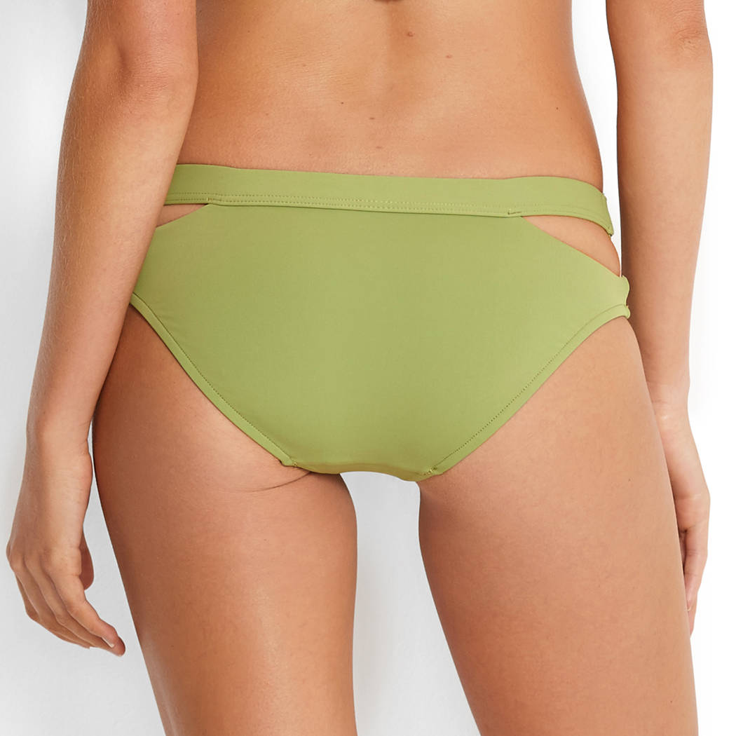 SEAFOLLY Maillot de bain slip hipster taille basse Active Moss