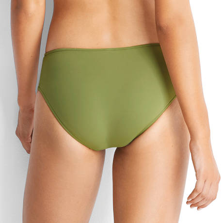 SEAFOLLY Maillot de bain culotte hipster multi liens Active Moss