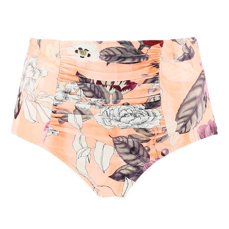 SEAFOLLY Maillot de bain culotte haute galbante Modern Love Peach