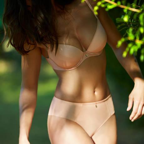 AUBADE Soutien-gorge push-up coques Onde Sensuelle Nude