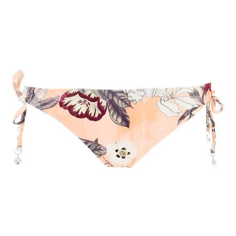 SEAFOLLY Maillot de bain culotte lacets Modern Love Peach