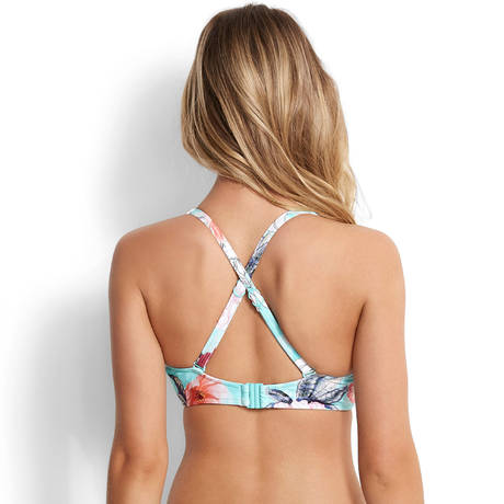 SEAFOLLY Maillot de bain triangle à armatures grandes tailles Modern Love Iceberg