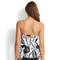 SEAFOLLY Haut de tankini Palm Beach Noir