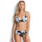SEAFOLLY Maillot de bain triangle armatures grandes tailles Palm Beach Noir