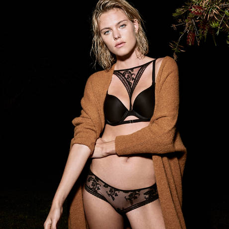 PASSIONATA Soutien-gorge push-up Fall In Love Noir