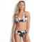 SEAFOLLY Maillot de bain culotte haute Palm Beach Noir