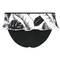 SEAFOLLY Maillot de bain slip jupe Palm Beach Noir