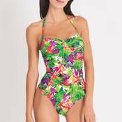 Maillot de bain 1 pièce Aubade Fleur Tropicale
