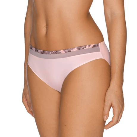 PRIMADONNA TWIST Slip Brésilien Flower Shadow Gardenia Rose