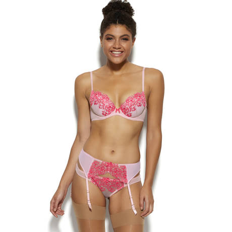 GOSSARD Soutien-gorge push-up Colour Clash Rasperry Kiss